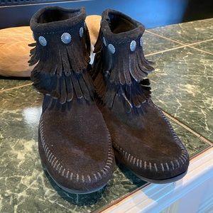 Minnetonka Leather Moccasins